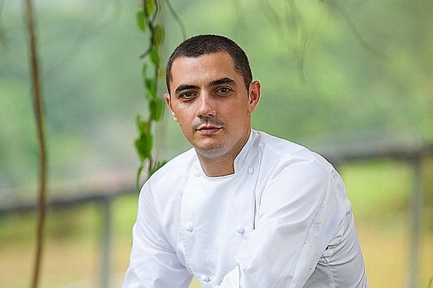 Odette chef Julien Royer was at the awards ceremony in Bilbao, Spain, on Tuesday.