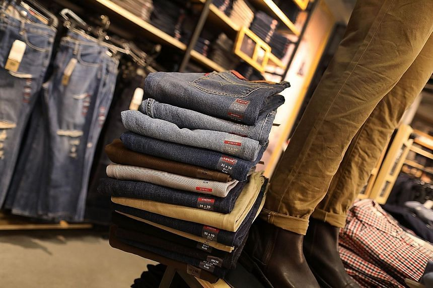 Harley-Davidson motorcycles (top) and Levi's jeans are just some of the US goods to be hit by EU import duties of 25 per cent from tomorrow. The EU said it will remove the tariffs if the US lifts its metal tariffs.