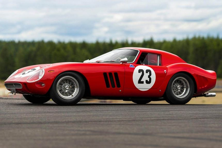 The 1962 Ferrari 250 GTO won the 1962 Italian National GT Championship and nine other races that year with its first owner-driver.