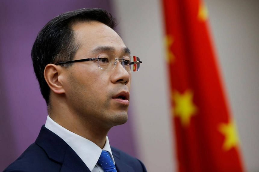 Commerce Ministry spokesman Gao Feng said China will maintain normal relations with Iran when asked for a comment about the matter at a news conference.