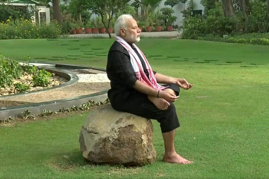 Indian Prime Minister Narendra Modi portrays himself as a keen yoga practitioner, last week posting on Twitter his morning routine involving plodding around a tree and flexing over a boulder.