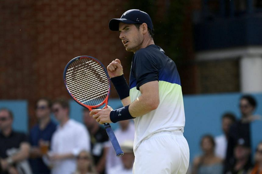 Andy Murray will decide with his team in the coming days on what his plans are for the next few weeks.