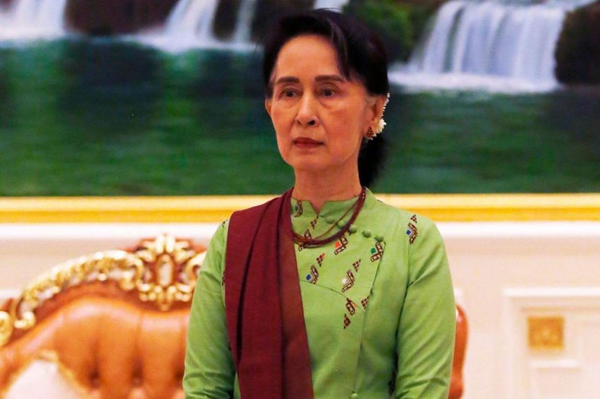 Patience and time are required to restore trust between communities, said Myanmar's leader Aung San Suu Kyi.
