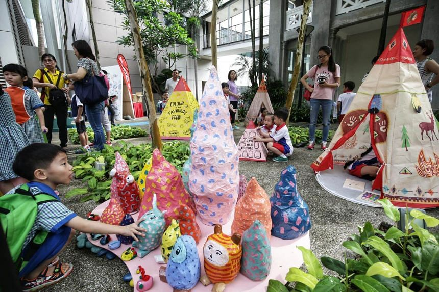 This year's PAssionArts Festival, which will run till Aug 25, is aimed at encouraging young families with children under 12 to bond through art.