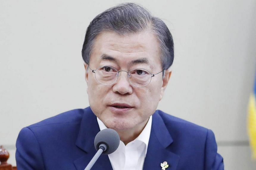 South Korean President Moon Jae-in begins a three-day state visit to Russia, on June 21, 2018.