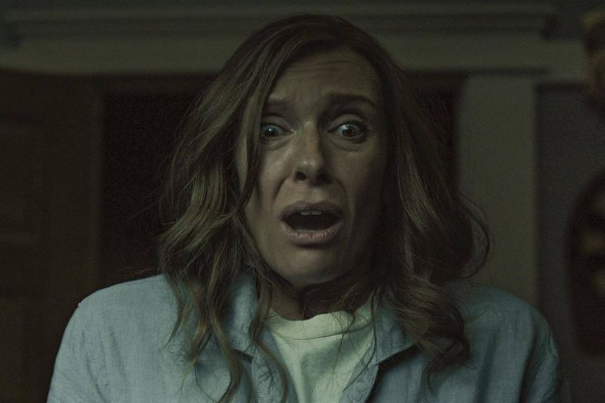 Toni Collette as Annie in Hereditary.