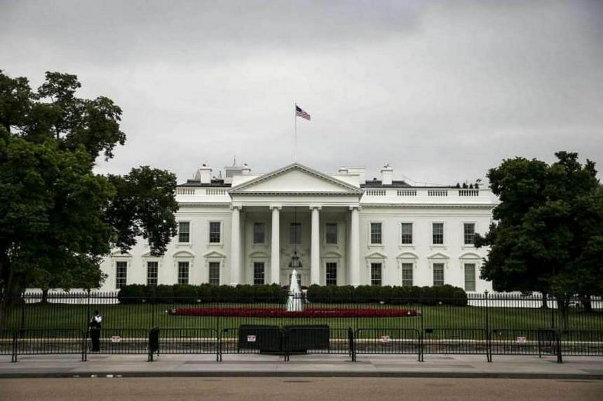 File photo showing The White House in Washington, DC. The Trump administration's top nuclear expert Andrea Hall has been replaced by Julie Bentz.