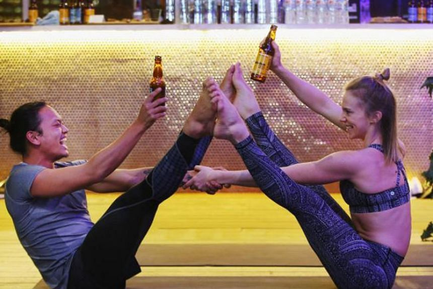 For those looking to pair food and arts, there is everything from beer yoga to a five-course modern Singaporean meal interwoven with contemporary dance.