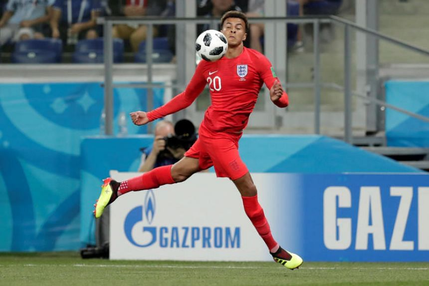 England midfielder Dele Alli picked up the injury during the 2-1 win over Tunisia on June 18, 2018.