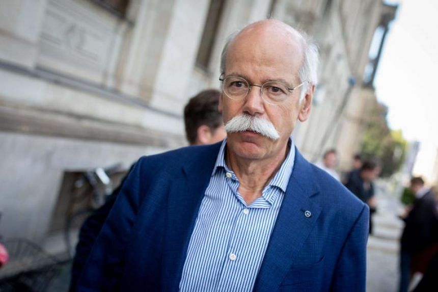 CEO Dieter Zetsche CEO of Daimler AG, one of the carmakers most affected by China's additional tariffs against American-made cars due to rising trade tensions.