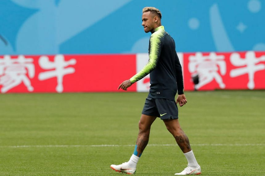 Neymar returned to training on June 20, 2018, but coach Tite insisted he is not running a risk by throwing Neymar straight back into the action.