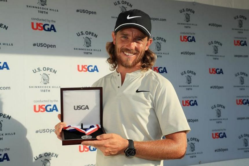 """Tommy Fleetwood (above) """"certainly has the game, the capabilities, and somebody who has proven he's not afraid of the moment of the shot"""", said Jordan Spieth."""