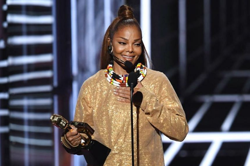 Honoree Janet Jackson accepts the Icon Award onstage during the 2018 Billboard Music Awards at MGM Grand Garden Arena on May 20, 2018 in Las Vegas, Nevada.