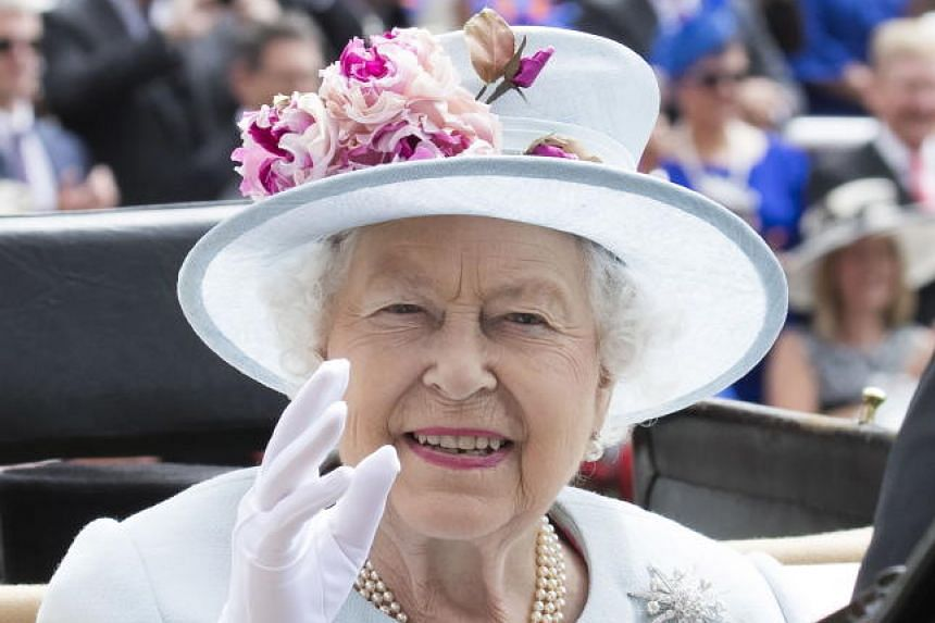 Britain Queen Elizabeth II attends the second day of the Royal Ascot races in Ascot, west of London, Britain, on June 20, 2018.