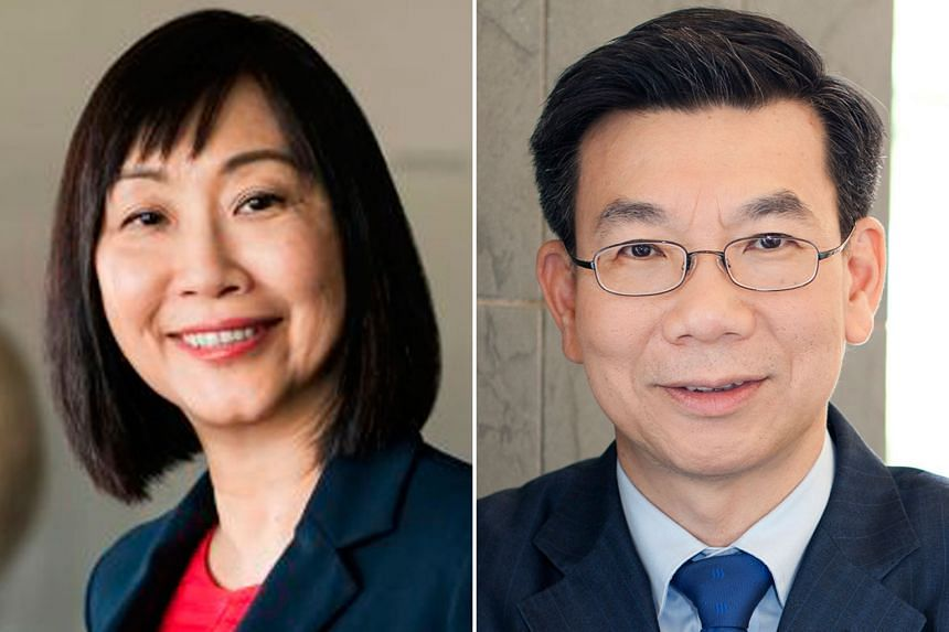 Professor Christine Goh (top) will replace Professor Tan Oon Seng as head of the National Institute of Education.