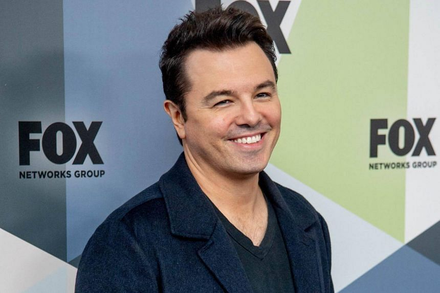 Seth MacFarlane at the 2018 Fox Network Upfront at Wollman Rink, Central Park in New York City, on May 14, 2018.