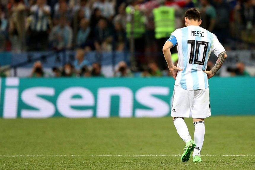 After the final whistle on June 21, 2018, Argentina captain Lionel Messi headed straight for the tunnel, leaving the rest of his team behind.