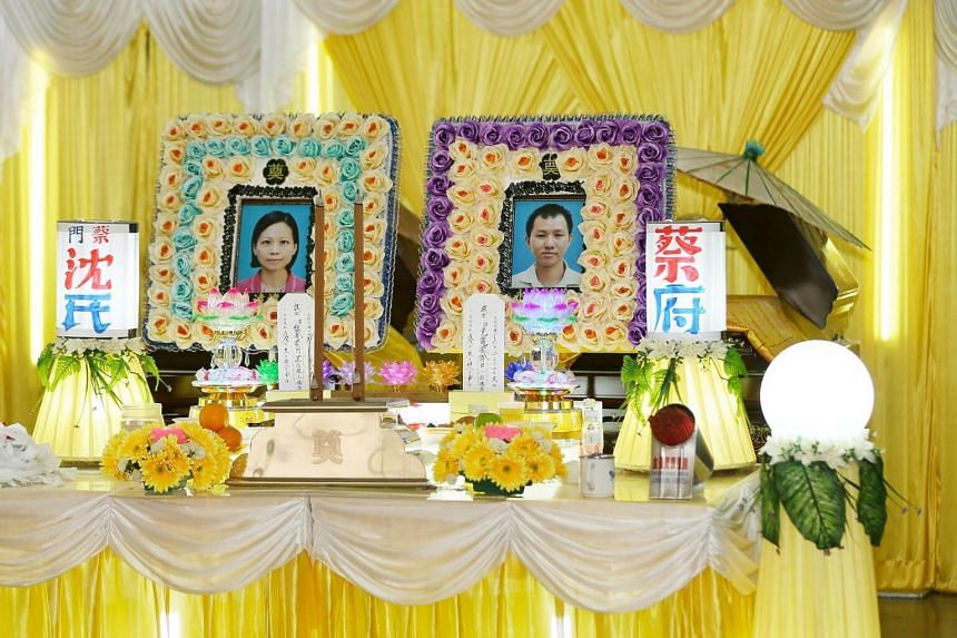 Madam Sam Chew Yong, 42, and Mr Chua Keh Loing, 41, died on June 15, 2018, after getting into an accident in Tangkak on the way to visit Madam Sam's mother, who lived near Seremban.