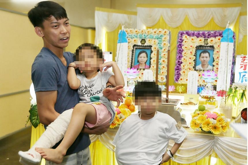 Chua Jun Xian, eight, and his sister, Xin Rou, five, lost their parents in a car crash on June 15, 2018, in Johor.