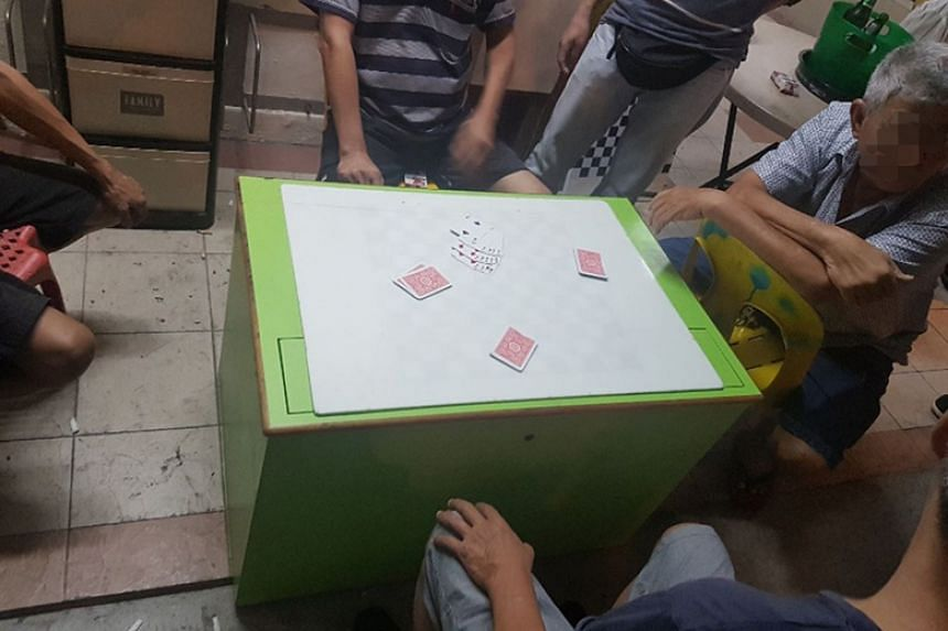 """The Straits Times understands that the activities were mahjong and a card game called """"13 cards"""", where bets were involved."""