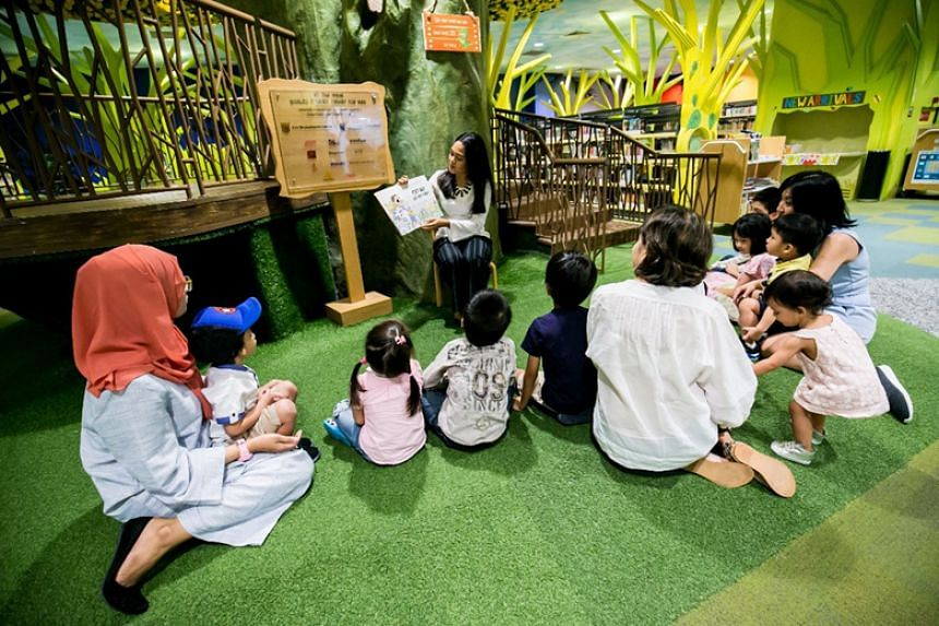 The Central Public Library is home to My Tree House, the world's first green library for children.