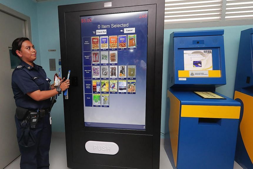 Another initiative, the Intelligent Logistics Item Dispenser System, consists of self-service vending machines that let inmates buy canteen items by matching their identity with their weekly spending allowance.