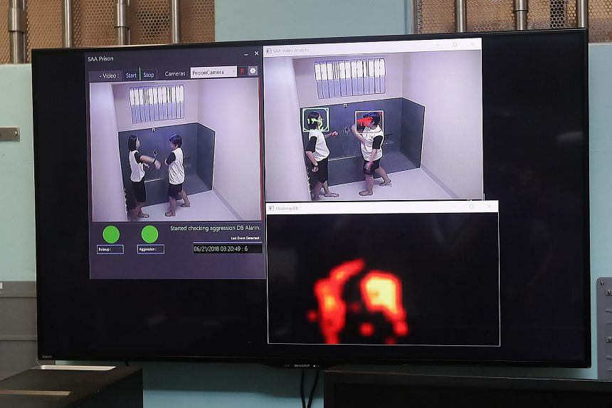 Avatar is on trial in one prison cell in Changi Prison's Cluster B. If it is successful, Singapore Prison Service will expand it throughout its institutions.