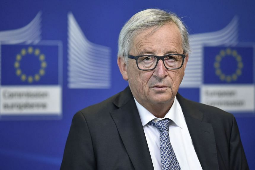 European Commission chief Jean-Claude Juncker spelled out that the bloc would target products including Harley-Davidson, bourbon and Levi's jeans.