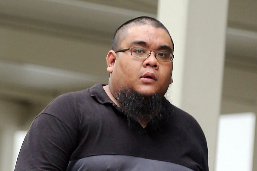 S. Ahmad Shazaly S. Affindy, 27, was sentenced to six months' jail after pleading guilty to causing hurt to the 56-year-old man, who is unable to speak.