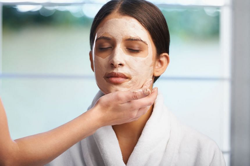A face mask can make skin look and feel nicer.