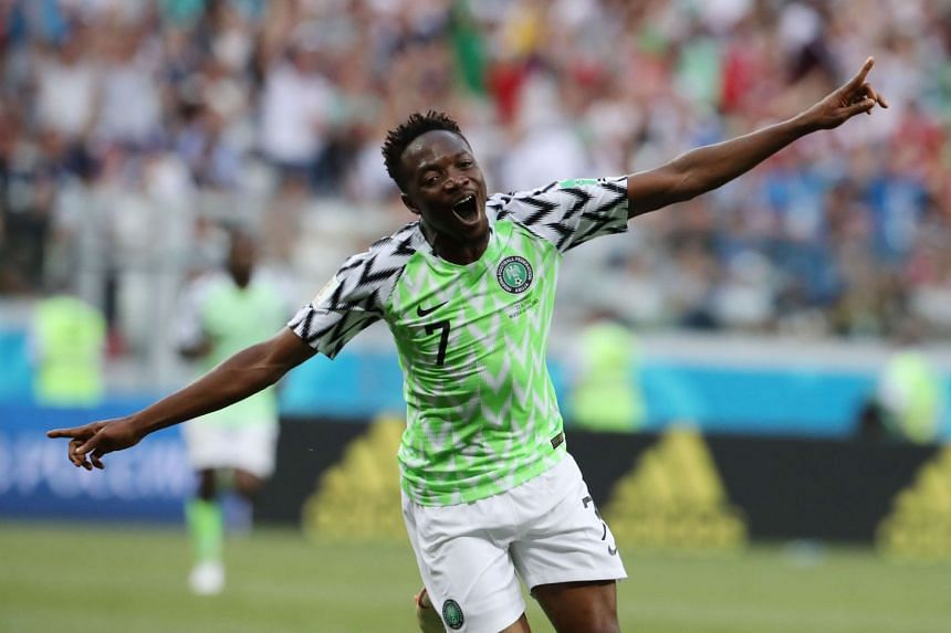 With his brace on Friday (June 22) against Iceland, Ahmed Musa broke a slew of Nigeria records: he became his country's top goalscorer at the World Cup (4) and also the first Super Eagle to score at two different World Cups.