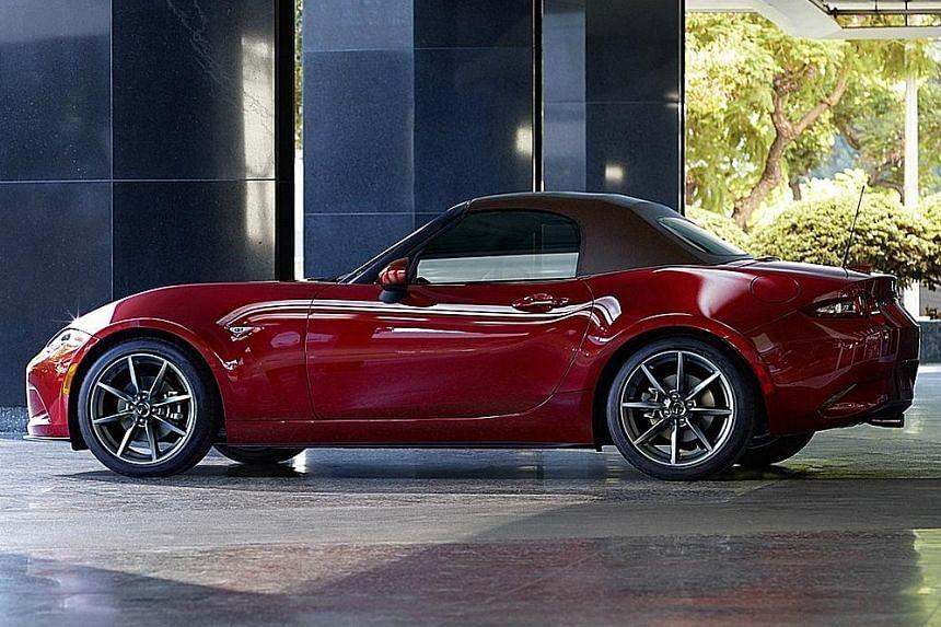 Mazda MX-5 gets a revamp
