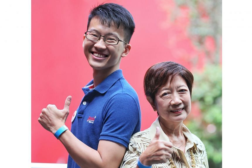 Regular donors Clement Ang and Maria Wong were among those honoured during the event.