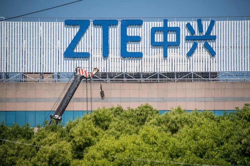 ZTE, China's second-largest telecommunications equipment maker, ceased major operations after the United States imposed a ban in April.