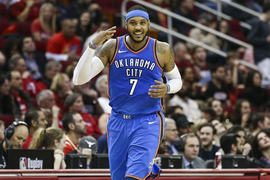 Carmelo Anthony has opted to remain on his current contract with the Oklahoma City Thunder.