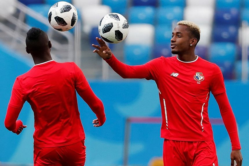 Panama's Michael Amir Murillo (right) has shown that his team can time their tackles well, as he did against Belgium's Eden Hazard in their opening encounter. But Panama still chalked up four bookings in that match, plus another for dissent.