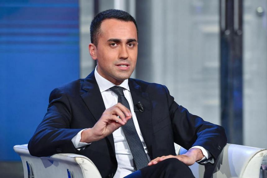 Italy's Deputy Prime Minister Luigi Di Maio said French President Emmanuel Macron's words showed he was out of touch.