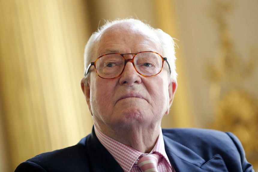 France's far-right figurehead Jean-Marie Le Pen had gone into hospital on June 12, 2018, with complications after a bout of flu.