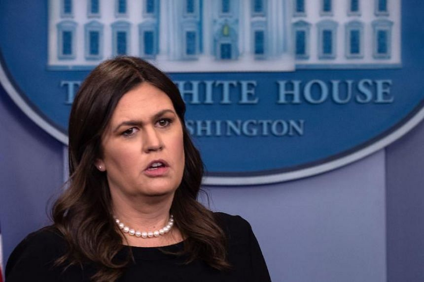 White House press secretary Sarah Sanders said the owner of The Red Hen in Lexington, Virginia, asked her to leave because of her job.