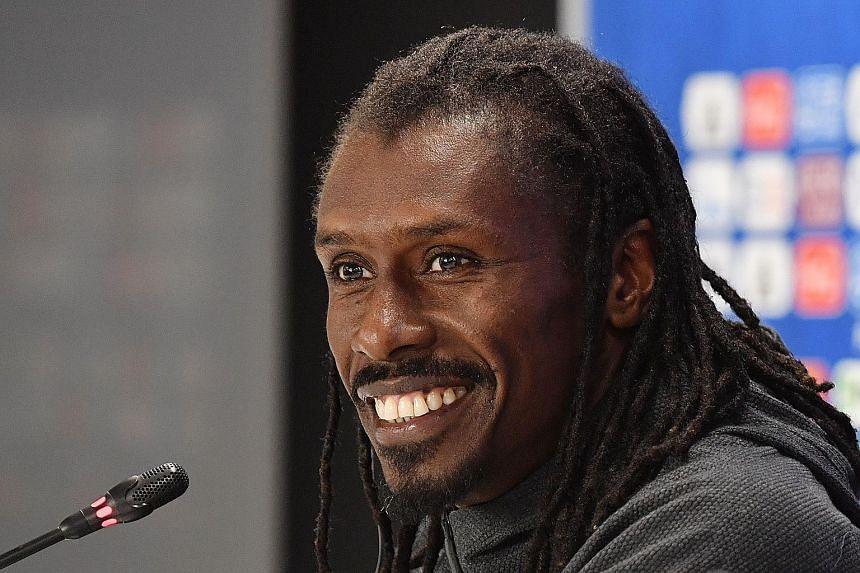Senegal coach Aliou Cisse, a fan favourite, has played down comparisons with the Marvel Comics superhero Black Panther.