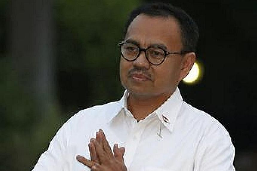 A two-way race in East Java province, where Ms Khofifah Indar Parawansa (above), an ally of President Joko Widodo, is taking on Mr Saifullah Yusuf, a candidate favoured by PDI-P chairman Megawati Sukarnoputri, highlights the tensions between the Pres