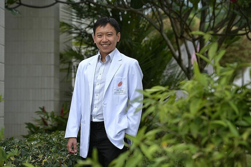 Dr Tey Hong Liang has formulated a soothing balm for patients with persistently itchy skin and devoted hours to learn what might prevent someone from perspiring. He is now working on a gentle hand wash tailored for those with itchy skin.
