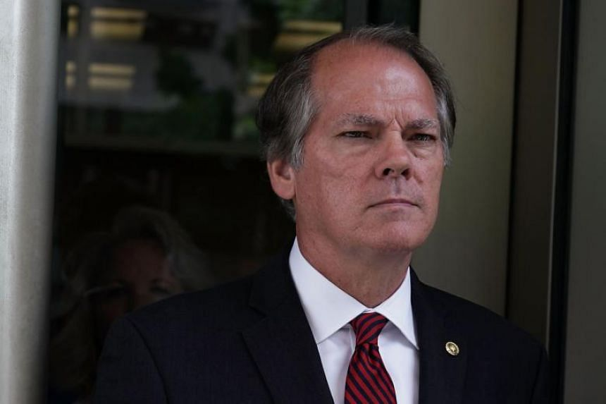 Former Senate Intelligence Committee Security Director James Wolfe comes out from the US District Courthouse after a status hearing in Washington, DC, on June 19, 2018.