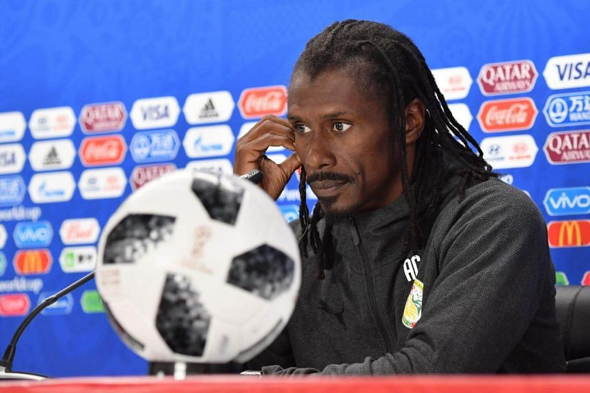 """""""Of course there are regrets but we must say we didn't see a great Senegal team tonight compared to the previous match against Poland,"""" said coach Aliou Cisse."""