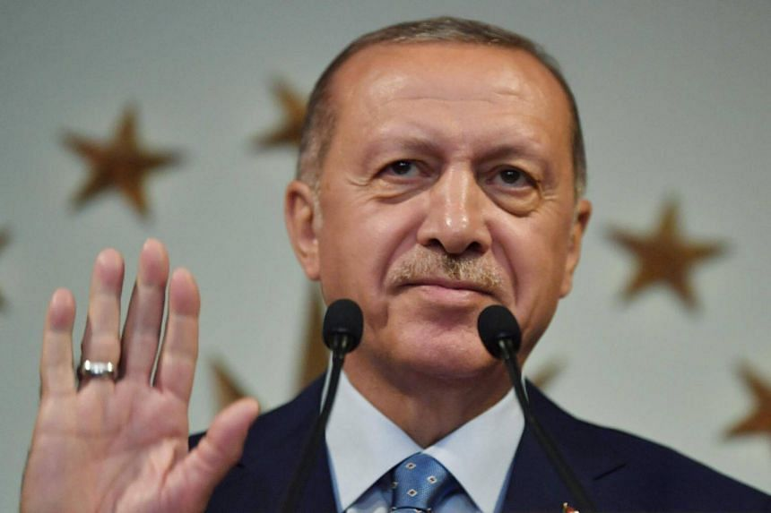 Results released by Turkey's state-run Anadolu news agency based on data from the Supreme Election Committee gave President Recep Tayyip Erdogan a clear majority of votes.