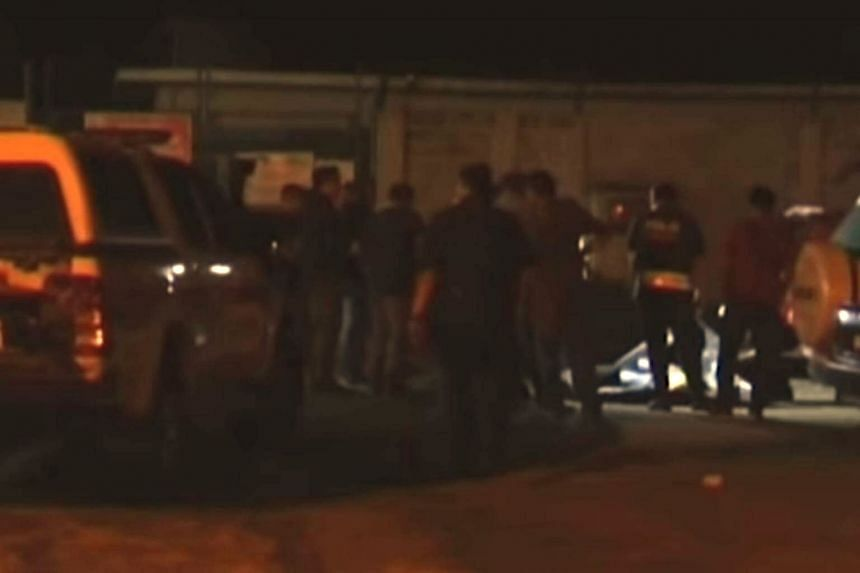 Police said there were lacerations on the neck of the Grab driver who was found dead at the parking lot in Taman Selayang Makmur, on June 23, 2018.