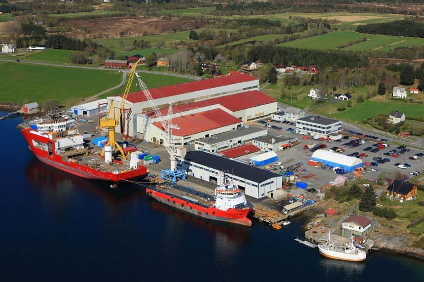 File photo showing a Vard shipyard in Norway. The company said that it will delay an extraordinary general meeting on its proposed delisting.