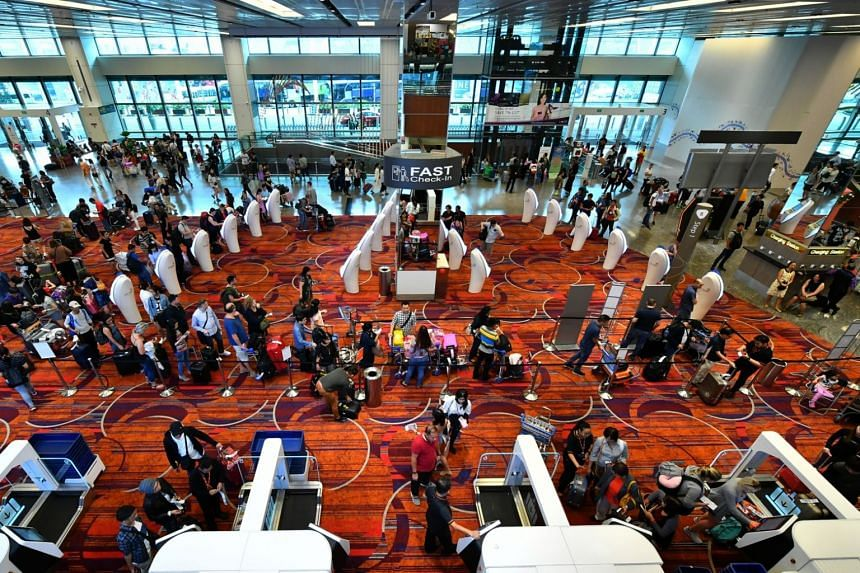Changi Airport handled record numbers of passengers, flights and cargo in 2017, with total passenger traffic growing by 6 per cent year on year to 62.2 million.