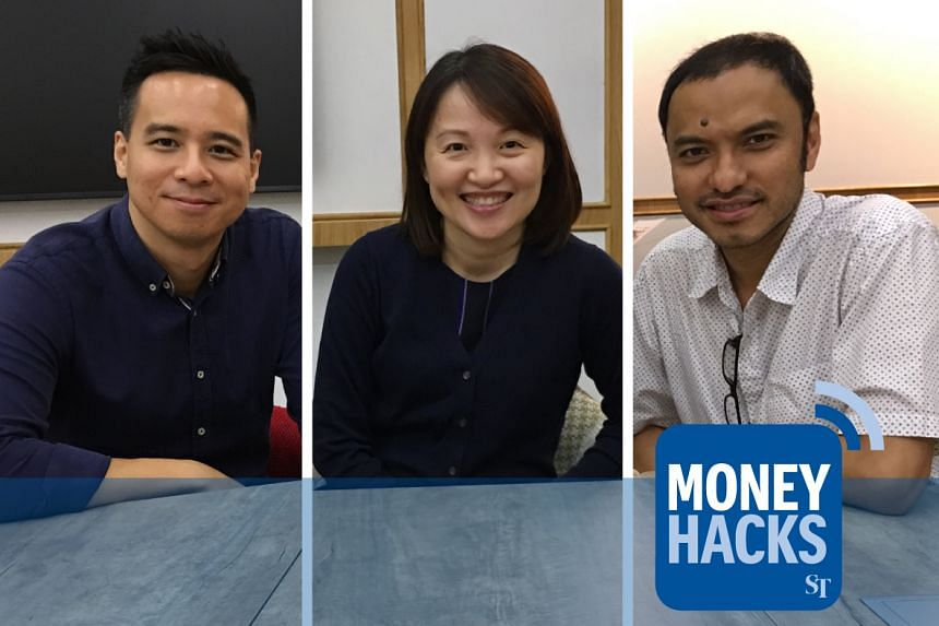 Ms Tok Geok Peng, head of secured lending for DBS Bank (centre), tackles misconceptions about home loans and mortgages in Singapore with Money Hacks hosts Chris Lim (left) and Ernest Luis (right).