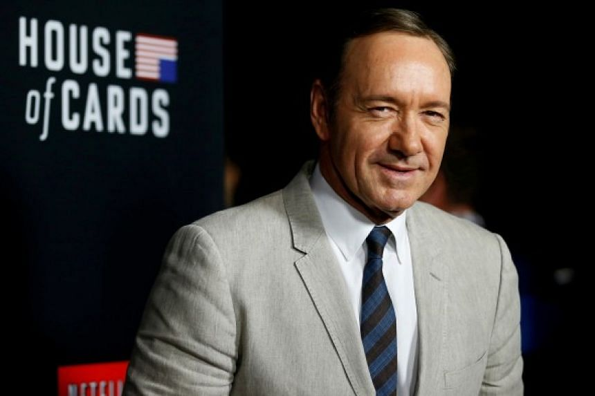Other stars who have been dropped from their shows abruptly include Charlie Sheen of Two And A Half Men and Kevin Spacey (above) of House Of Cards.